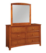 Furniture of America Omnus Dresser Oak