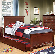 Furniture of America Colin Bed Cherry