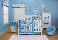 Trend Lab Dr. Seuss Oh, The Places You'll Go 3PC Crib Bedding Set