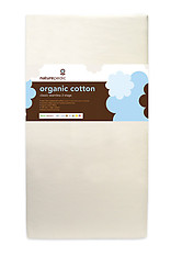 Naturepedic Organic Cotton Classic 150 Seamless 2-Stage Crib Mattress