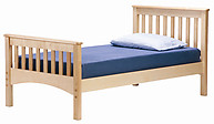 Bolton Furniture Mission Bed Natural