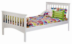 Bolton Furniture Mission Bed White