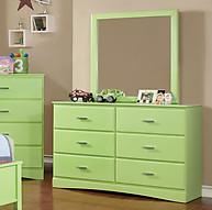 Furniture of America Prismo Dresser Green