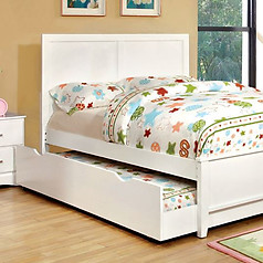 Furniture of America Prismo Bed White