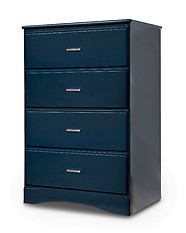 Furniture of America Prismo Chest Blue