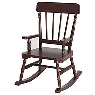 Simply Classic Cherry Finish Rocker