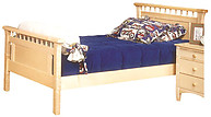 Bolton Furniture Bennington Twin Bed Natural