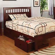 Furniture of America Carus Bed Cherry