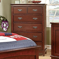 Furniture of America Colin Chest Cherry
