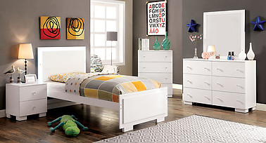 Furniture of America Lizbeth Collection 4-Piece Set
