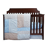Trend Lab Logan 3PC Crib Bedding Set
