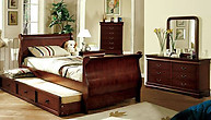 Furniture of America Louis Philippe II Chest Cherry