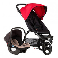 Mountain Buggy Mini Stroller Travel System Berry