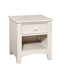 Furniture of America Omnus Nightstand White