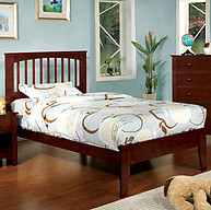 Furniture of America Pine Brook Bed Cherry