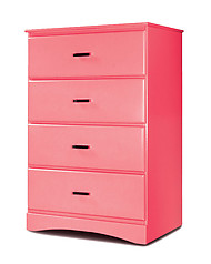 Furniture of America Prismo Chest Pink