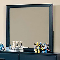 Furniture of America Prismo Mirror Blue