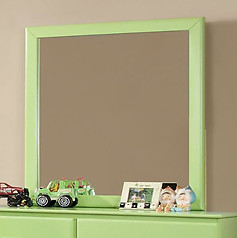 Furniture of America Prismo Mirror Green