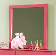 Furniture of America Prismo Mirror Pink