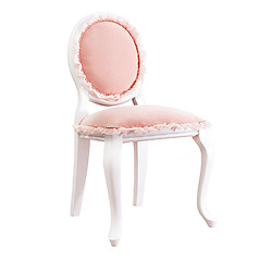 Cilek Romantic Collection Blush Velvet Upholstered Chair