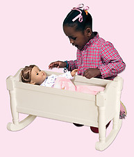 Guidecraft Doll Cradle White