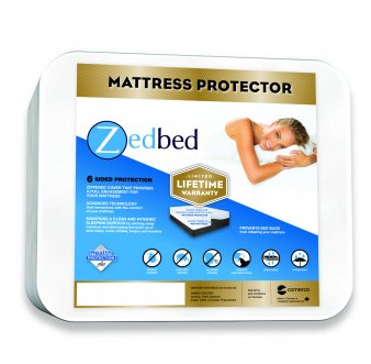 Zedbed Protect-Plus Total Encasement Mattress Protector