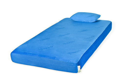 Glideaway Jubilee Youth Memory Foam Mattress Blue